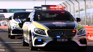 Police Down Under Now Have An AMG Patrol Car
