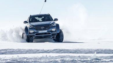 In The Footsteps Of Shackleton – A Hyundai Santa Fe Tackles The Antarctic