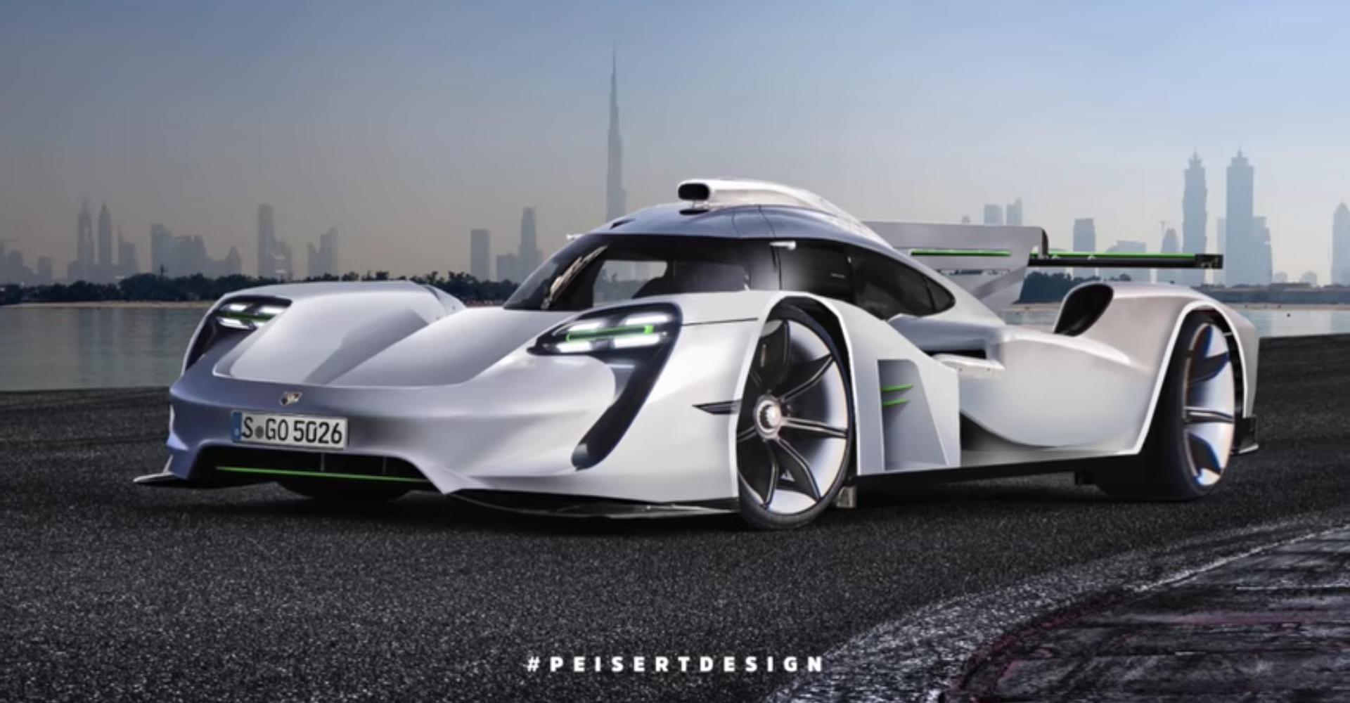 Here's How You Make A Futuristic Porsche Render