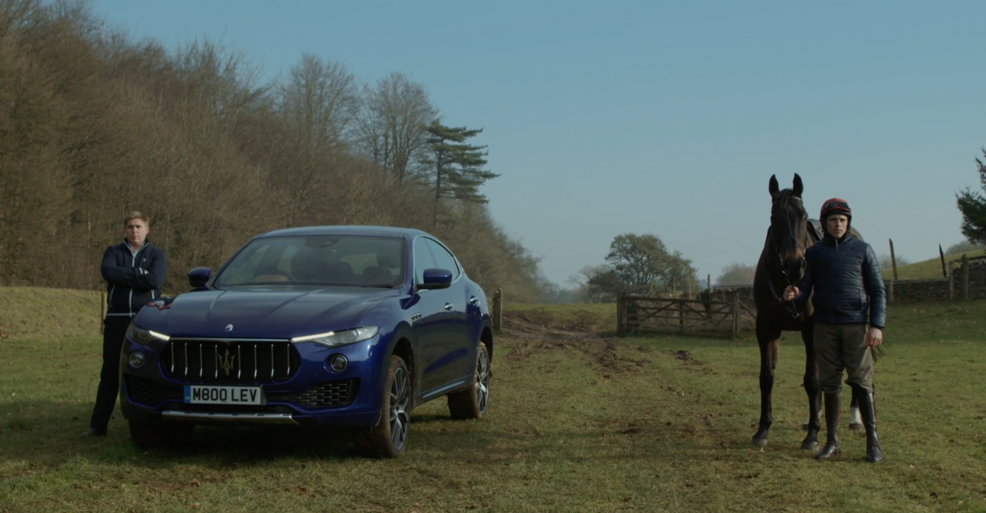 Maserati Takes On Prancing Horse Again In Strange Point-To-Point Race