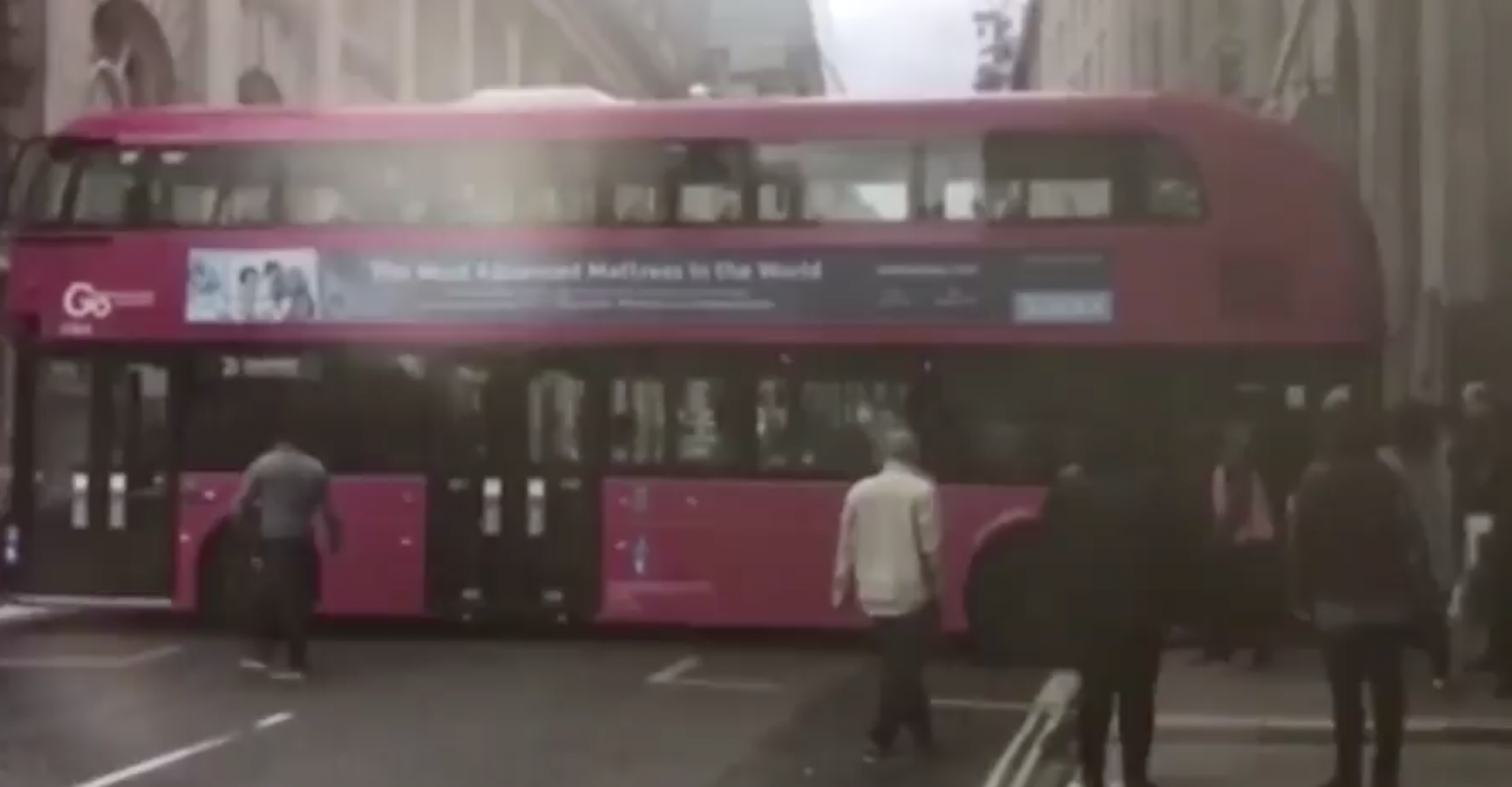 Bus Driver Gets Stuck While Attempting A Three-Point Turn