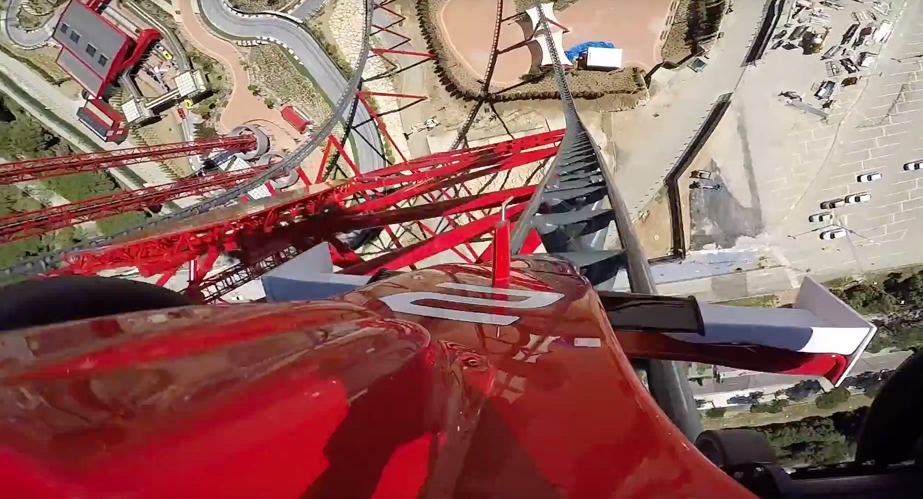 New Ferrari Rollercoaster Is Europe's Tallest And Fastest