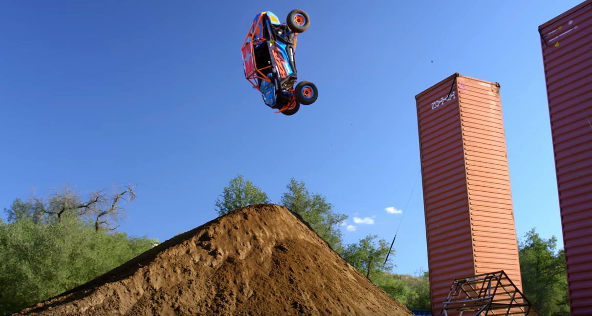 Here's How To Nail A Backflip In A Polaris RZR