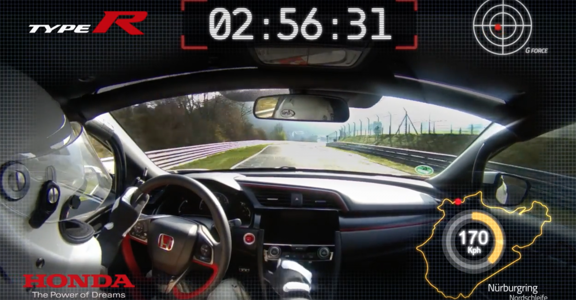 Honda Civic Type R Sets New Lap Record At The Nurburgring