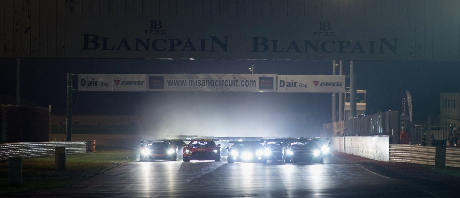 Endurance Race Crash Is Rather Scary At Night
