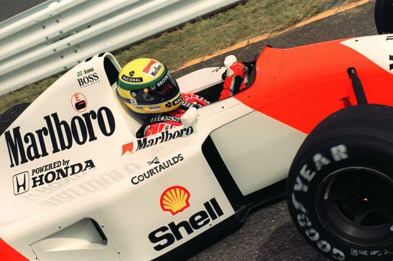 Ayrton Senna, Marlboro McLaren
