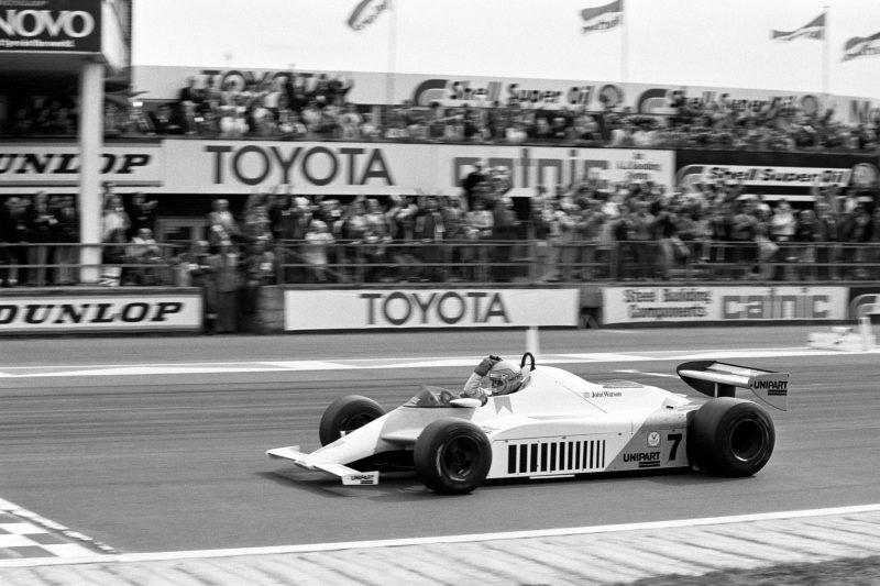 Formula One Motor Racing - British Grand Prix - Silverstone 1981