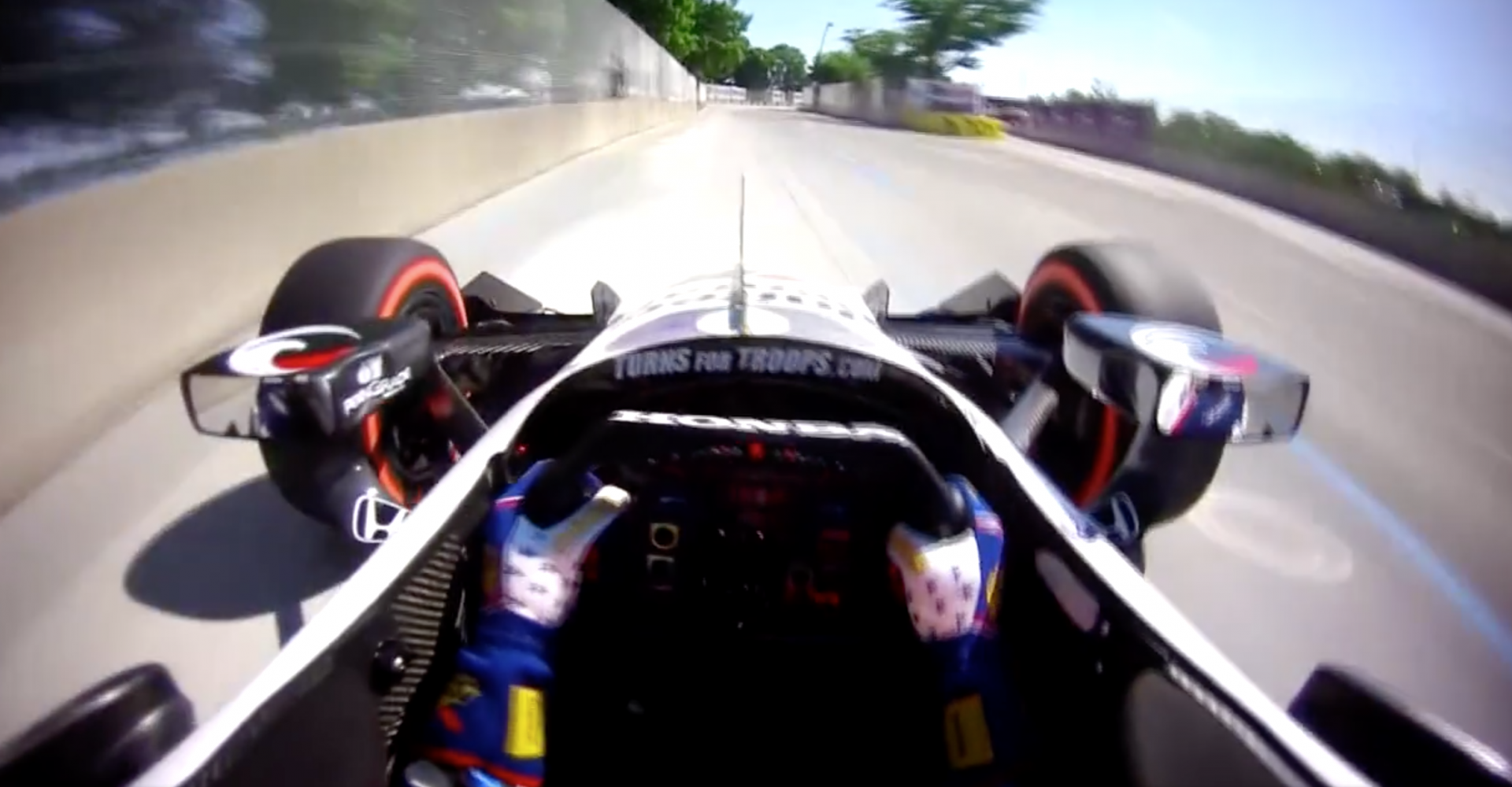 Feel The Speed At IndyCar Grand Prix Thanks To Awesome Helmetcam Footage