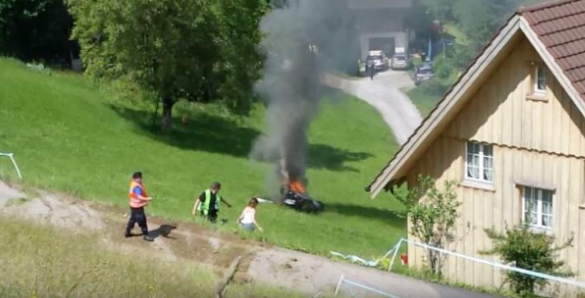 Richard Hammond Survives Fiery Supercar Crash
