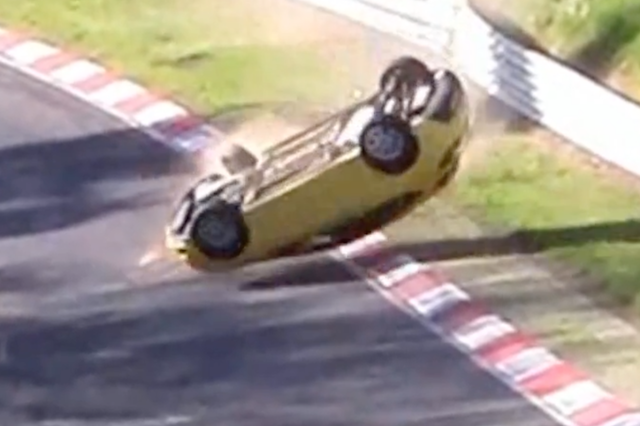 Over-Zealous Astra Driver Stuffs It On The Nurburgring