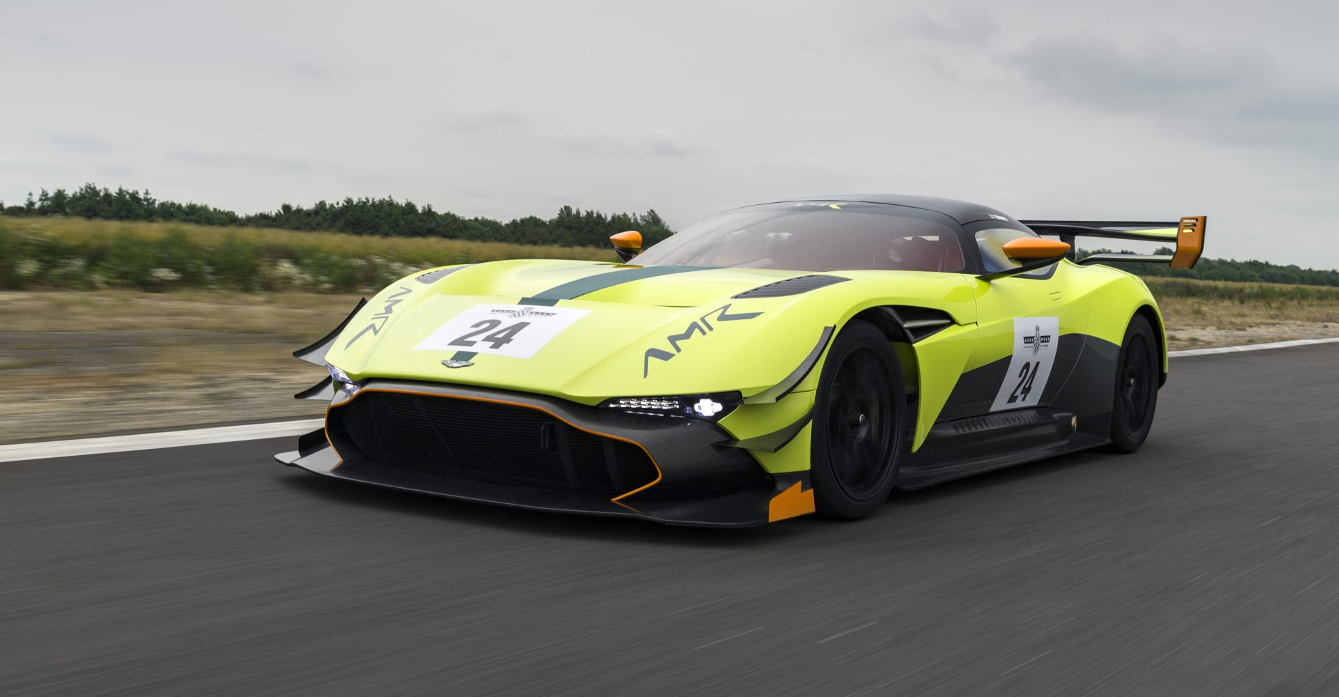 The Aston Martin Vulcan gets even more extreme