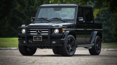 Convertible G-Wagen Is Up For Auction