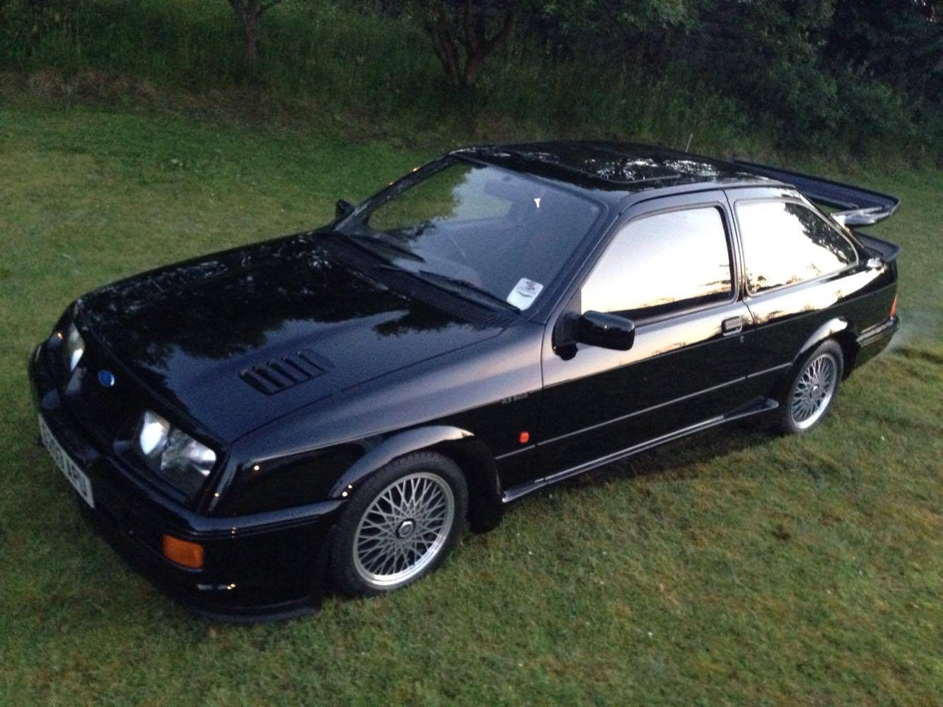 Trio of Ford Sierra RS Cosworths snatched in carefully planned raid