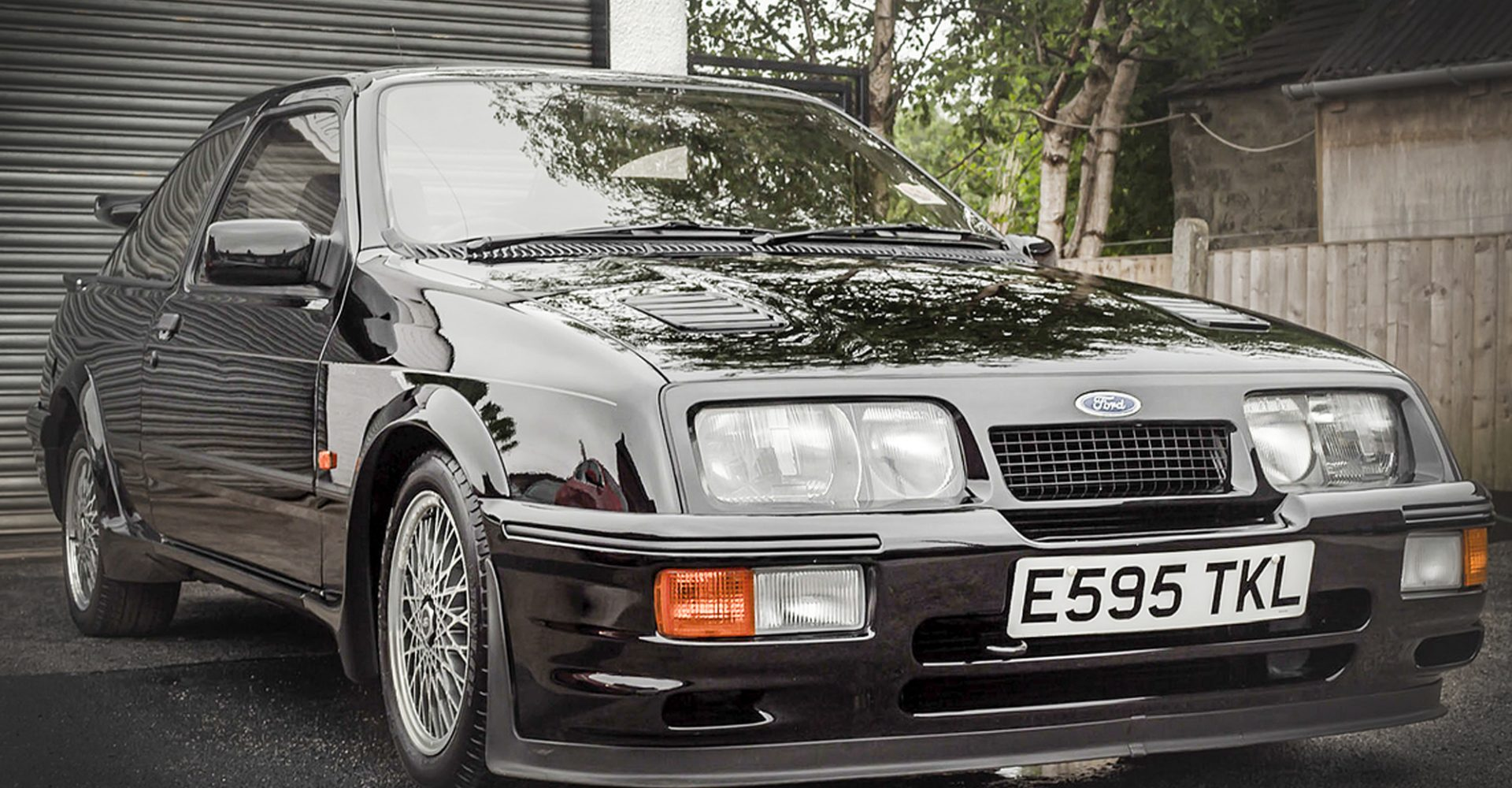 Classic car values go sky high as Ford Sierra Cosworth RS500 fetches more than £100,000 at auction