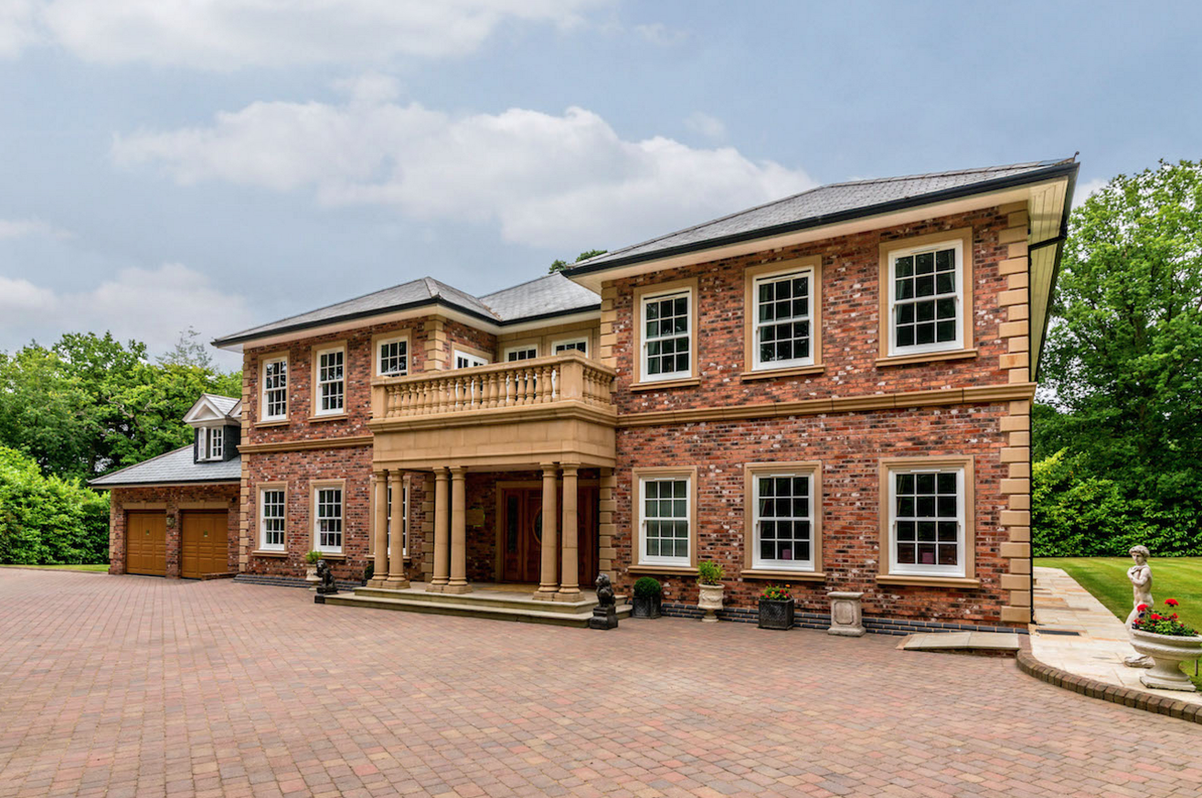 If your garage is more important than your house, this £3.25m luxury home could be for you