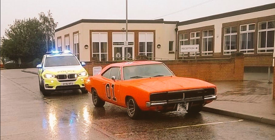 Police finally catch up with the Dukes of Hazzard