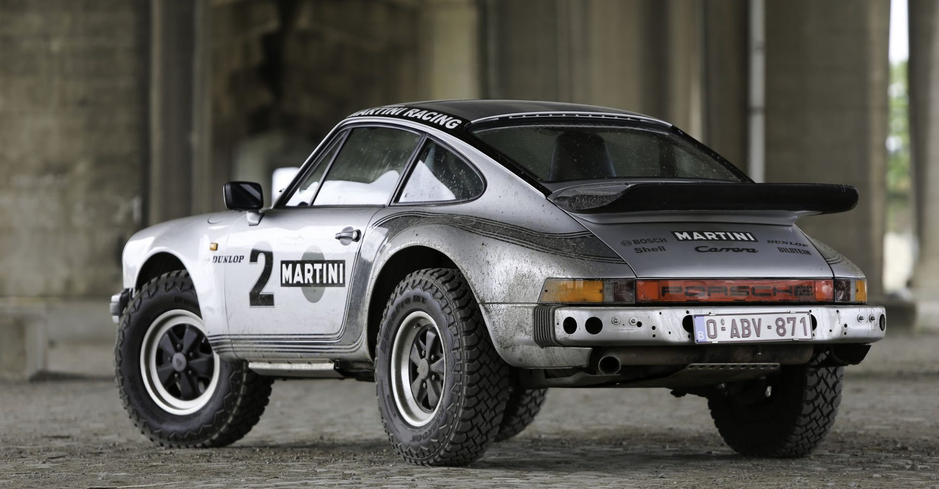 Rare Porsche 911 Safari replica goes up for sale and it's awesome