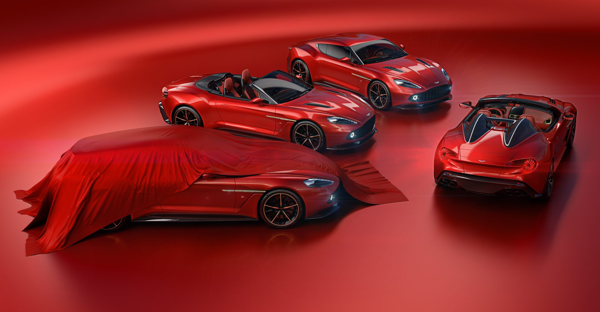 Aston Martin Vanquish Zagato family gets Speedster and Shooting Brake