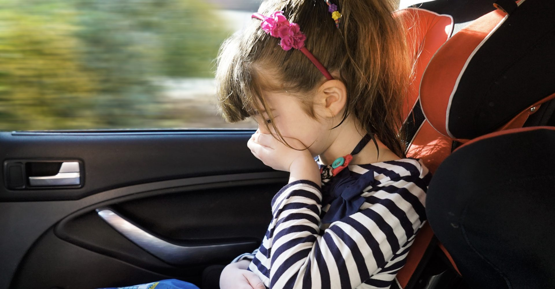 How car journeys made one mother feel she had been torturing her child