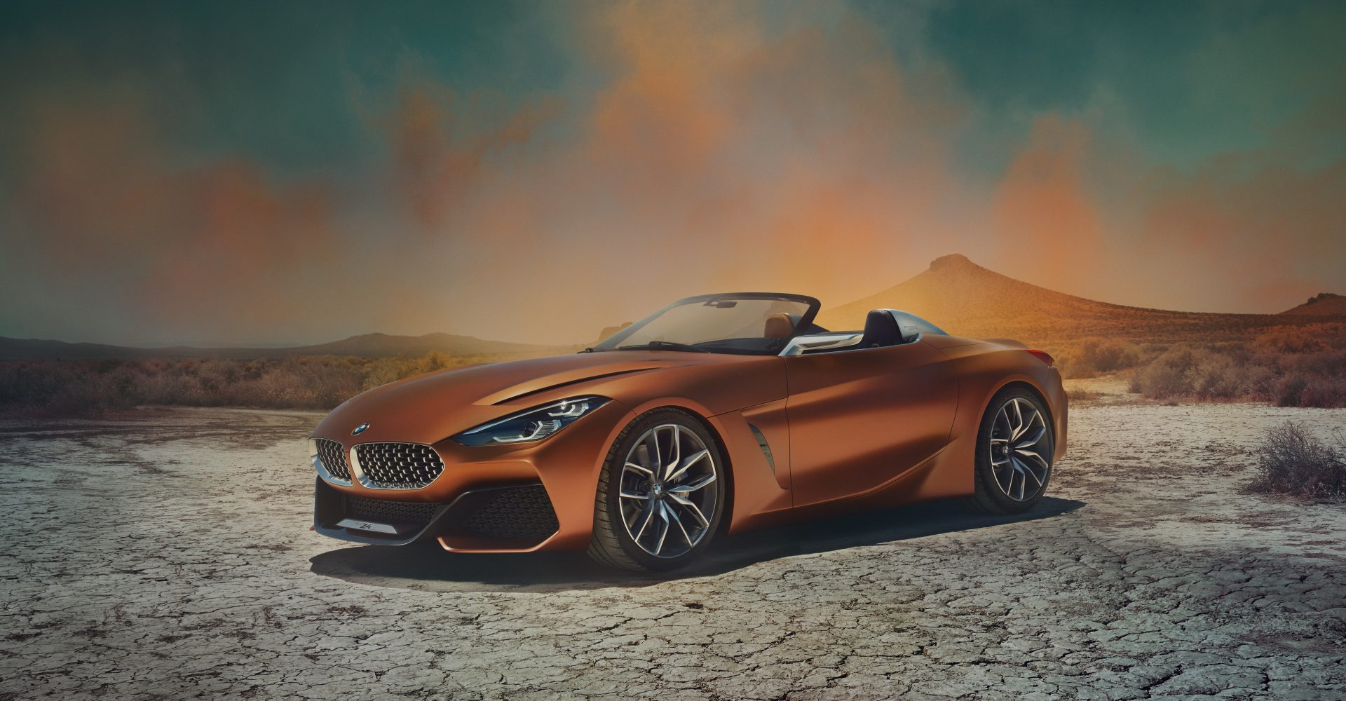The BMW Z4 is back and it's making its debut at Pebble Beach