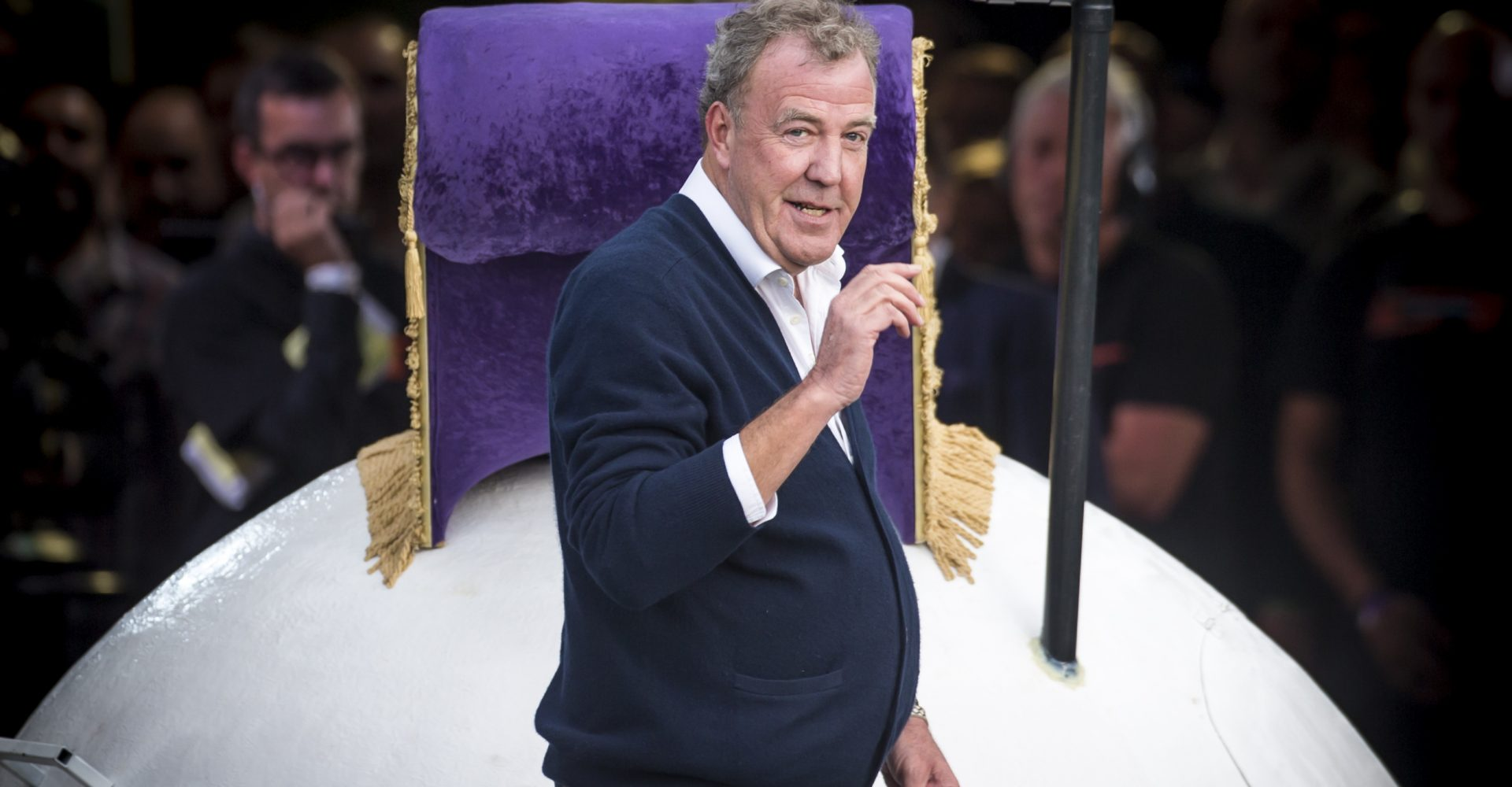 Jeremy Clarkson hospitalised by pneumonia while on holiday