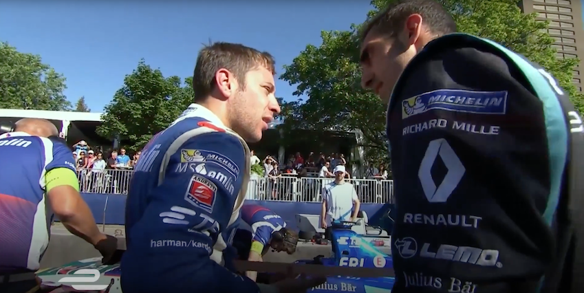 Formula E driver Sebastien Buemi has a bone to pick with his fellow racing drivers