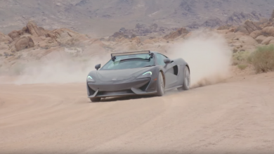 Watch what happens when you take a couple of McLaren 570GTs off road