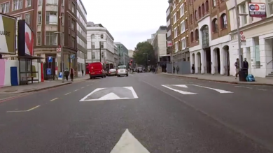 These optical illusions are designed to make you slow down