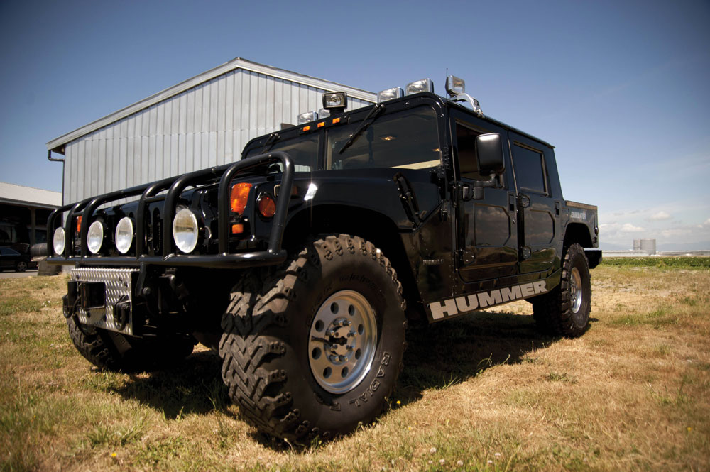 Tupac Shakur's Hummer H1 returns to auction