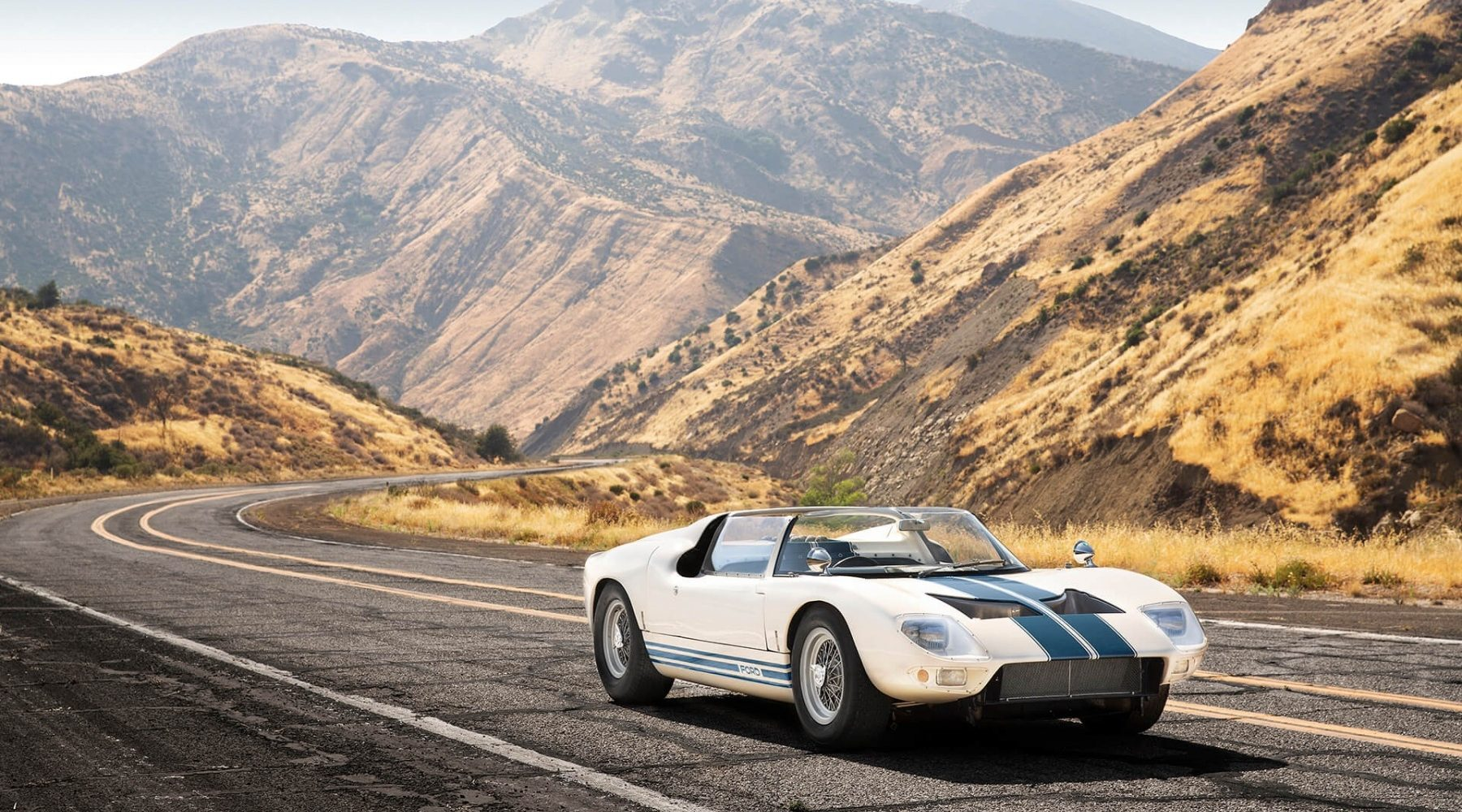 First and only original GT40 Roadster Prototype goes on sale