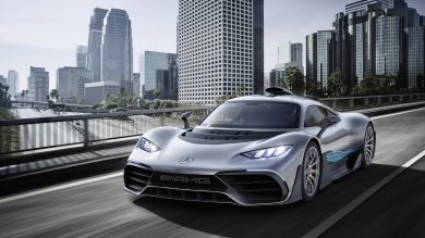 6 killer facts about the Mercedes-AMG Project One