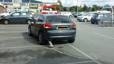 This is why a car park is never the place to show off