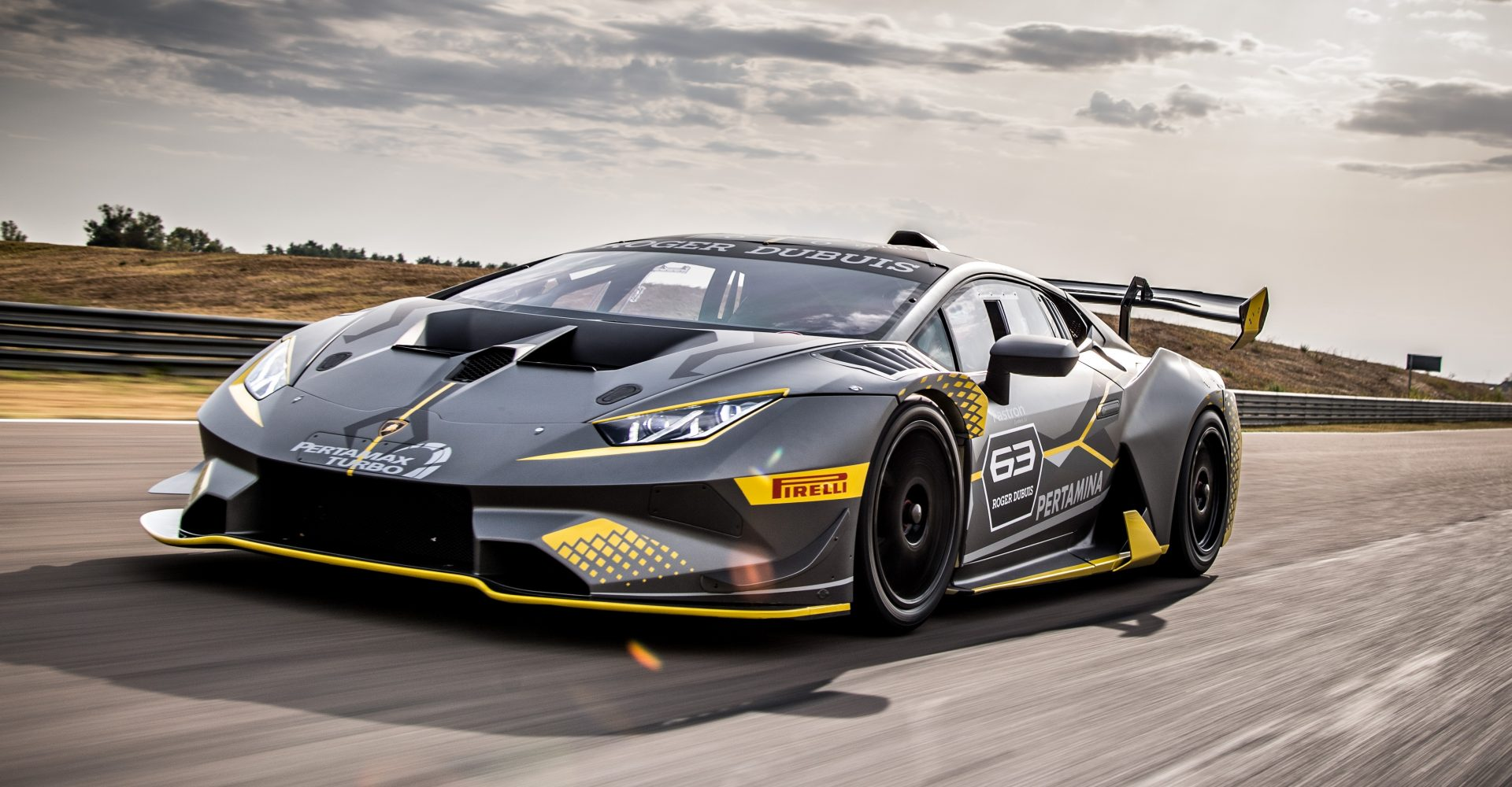 Lamborghini debuts new Huracan Super Trofeo Evo – and here's what you need to know about it