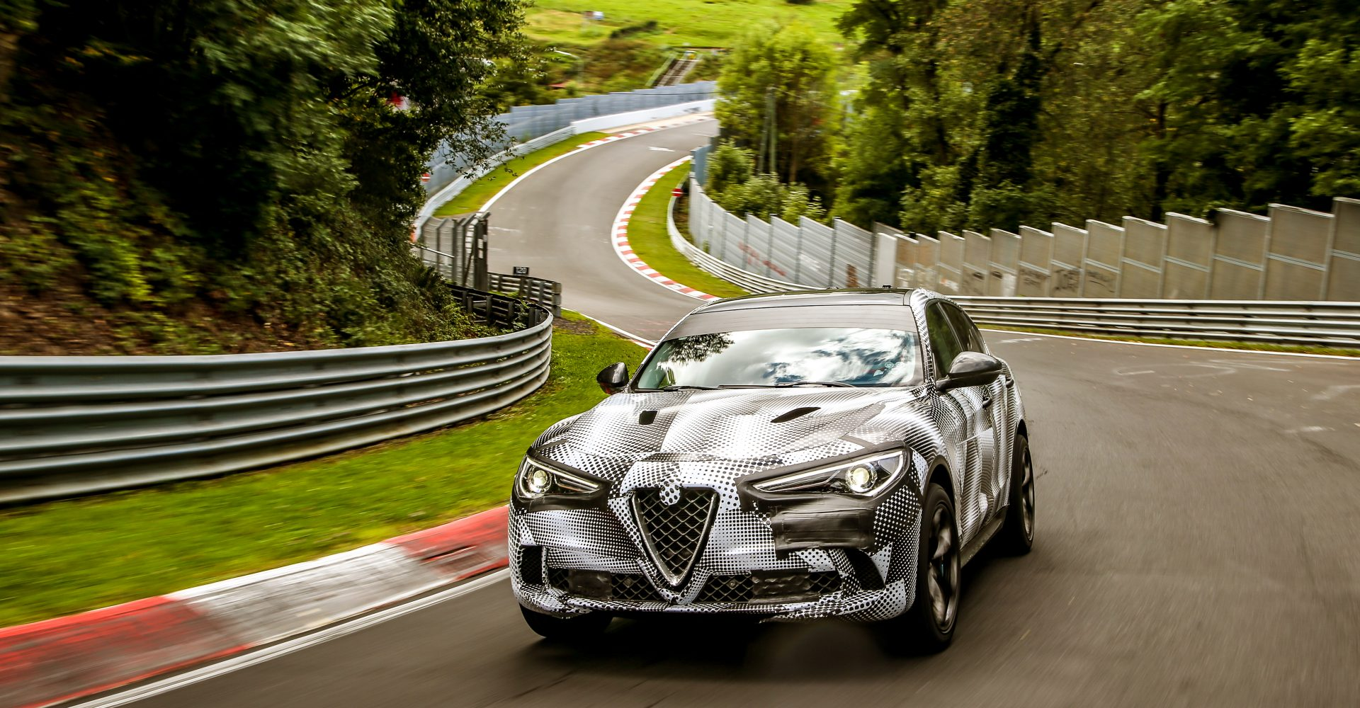 The Alfa Romeo Stelvio Quadrifoglio is the fastest SUV at the Nurburgring