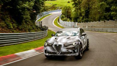 The Alfa Romeo Stelvio Quadrifoglio is the fastest SUV at the Nurburgring