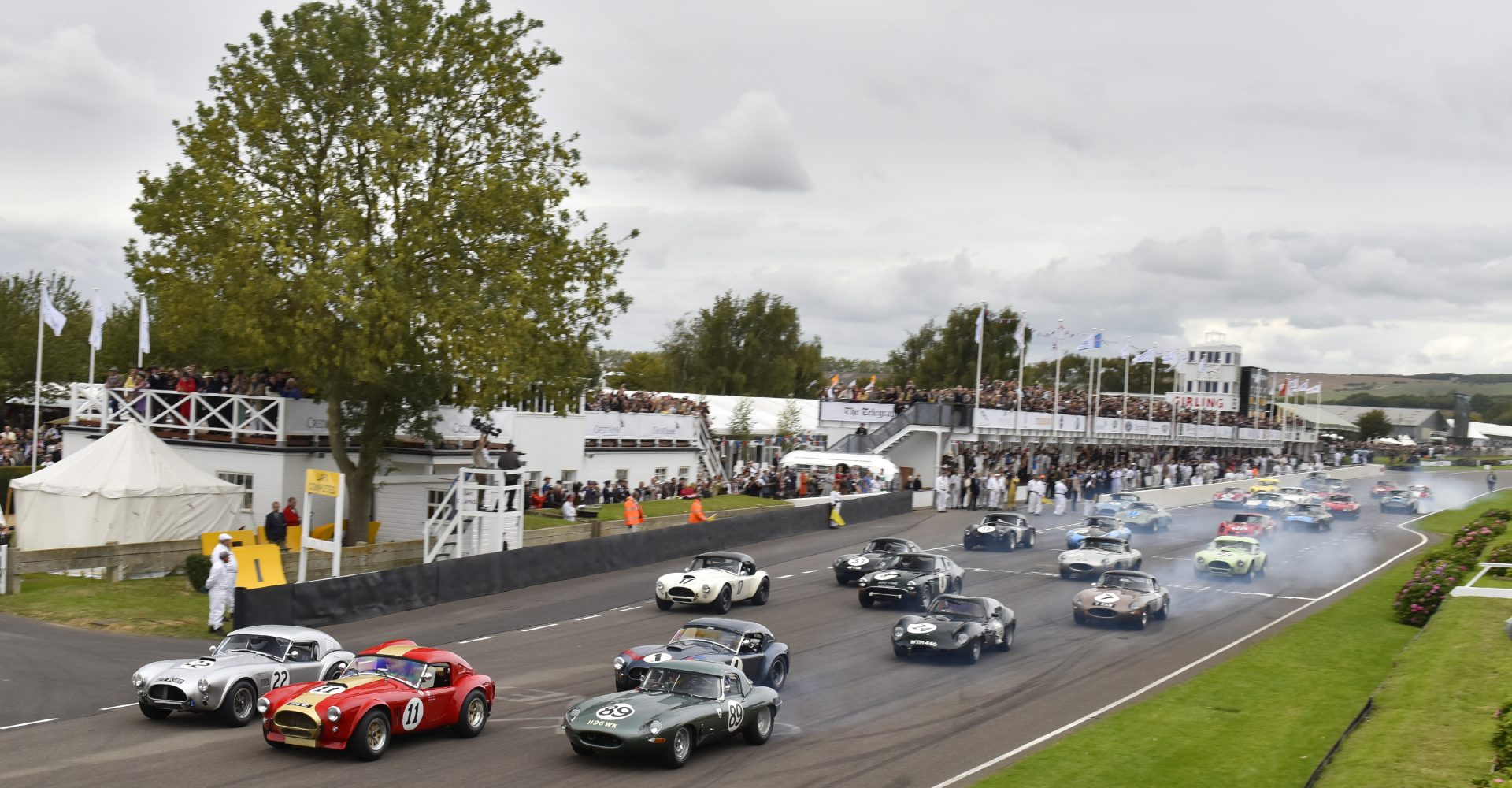 Armed robbers steal £75,000 in cash at Goodwood Revival