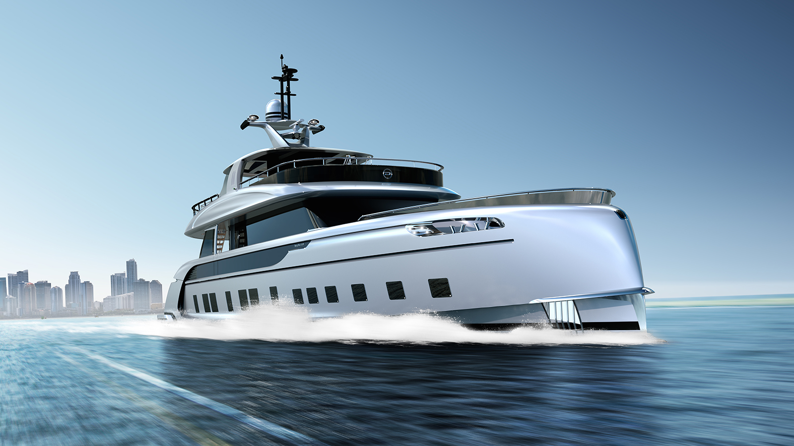 This isn't just any superyacht… this is a Porsche superyacht