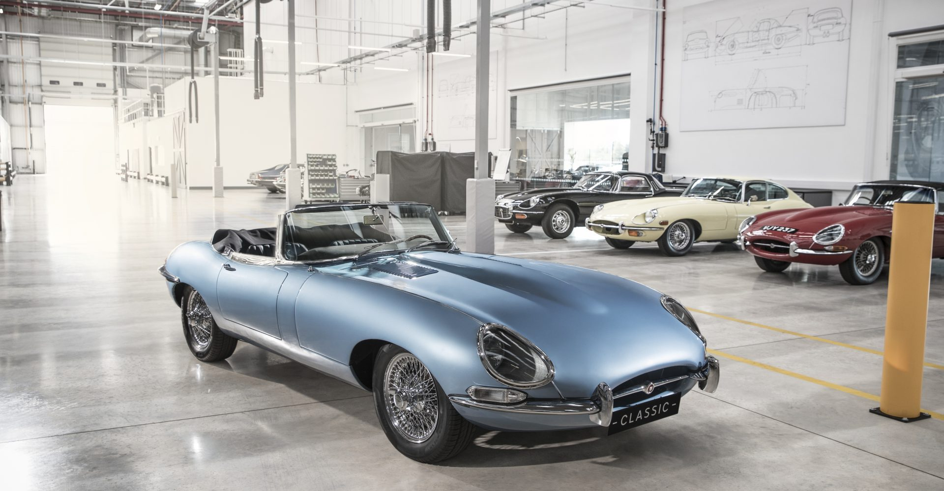 Meet Jaguar's electric E-Type…