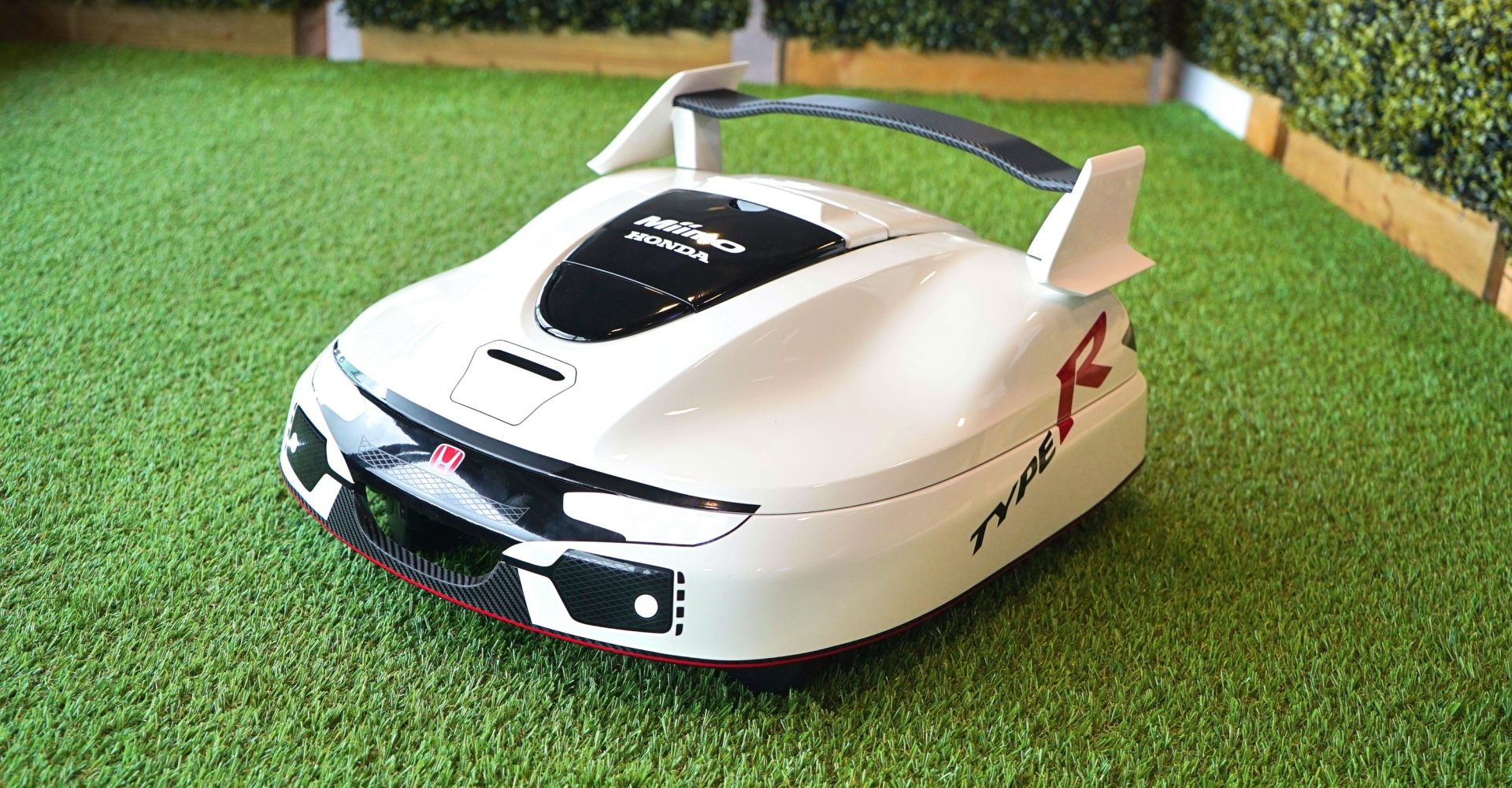 This Honda lawnmower is the coolest way to cut grass