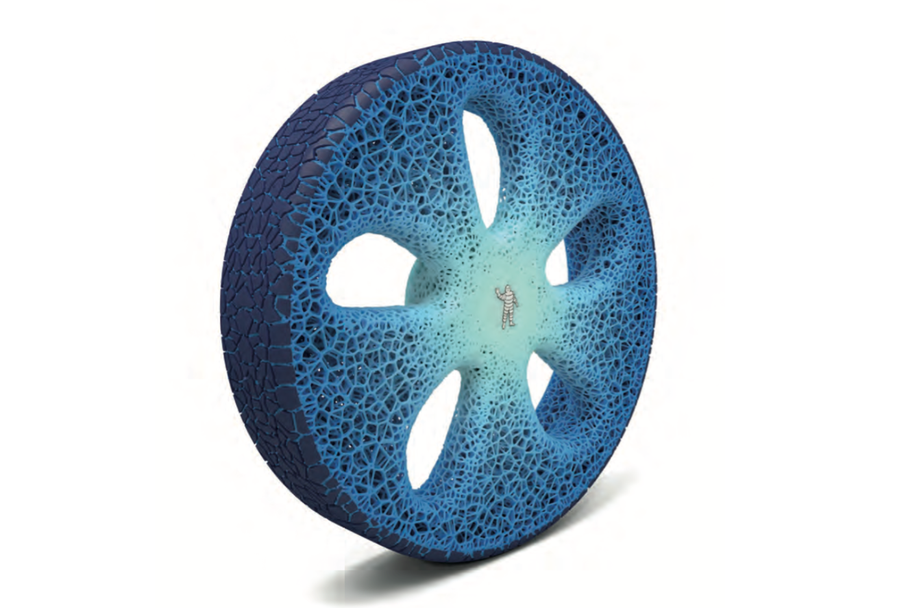 In the future you could rejuvenate your tyres with 3D printing