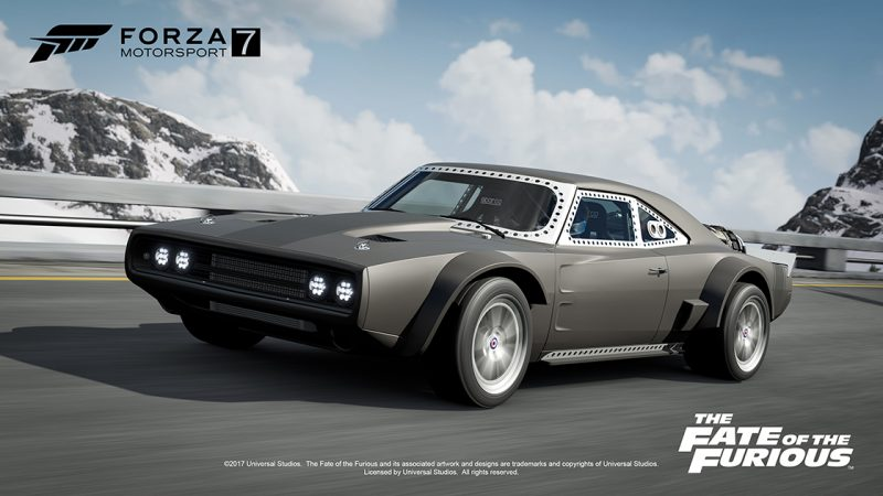 the cars of fast and furious 8 are coming to forza