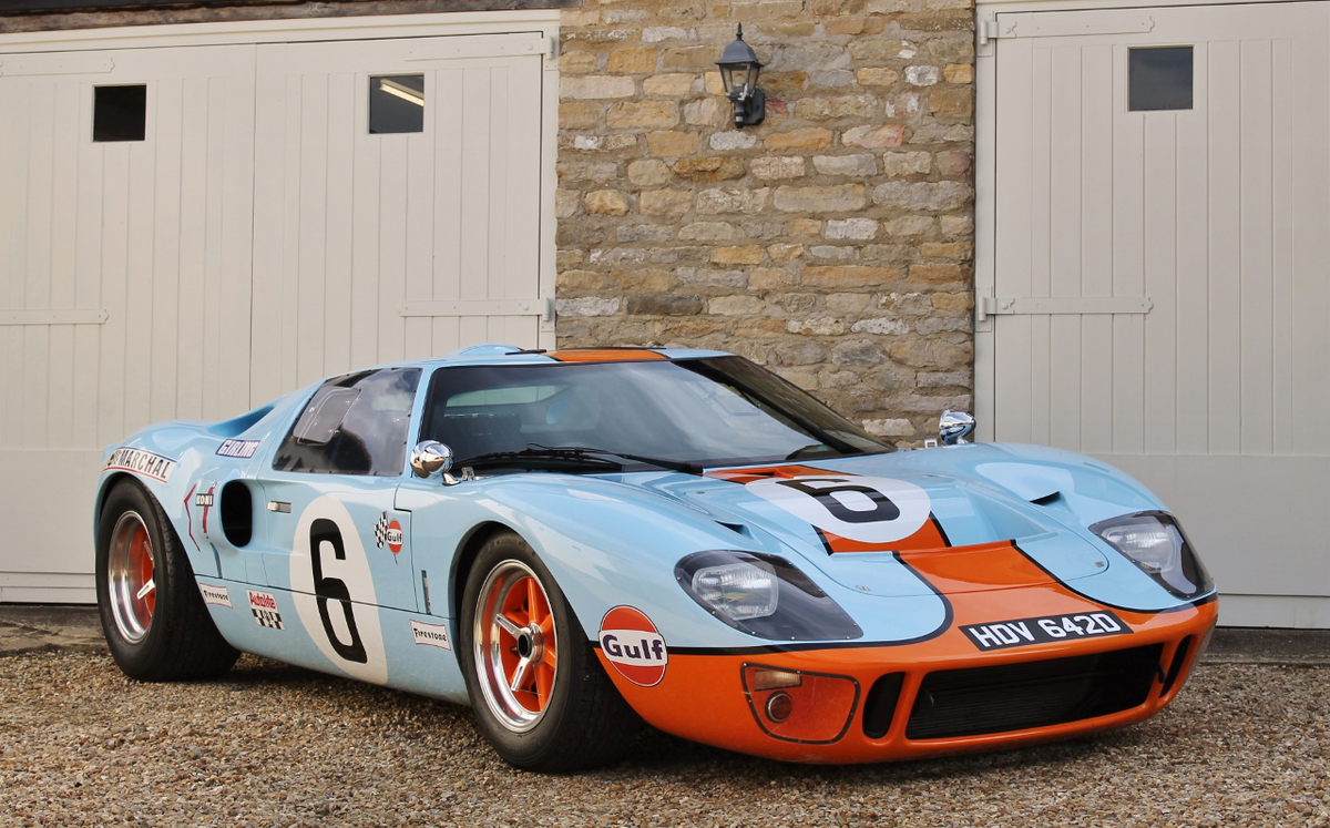 Gulf-liveried Ford GT40 replica to go under the hammer ...