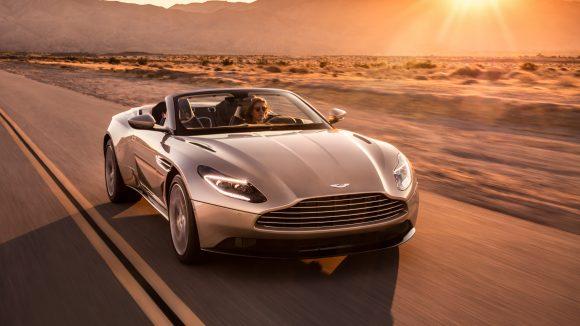 Aston Martin's DB11 V8 now available as a convertible