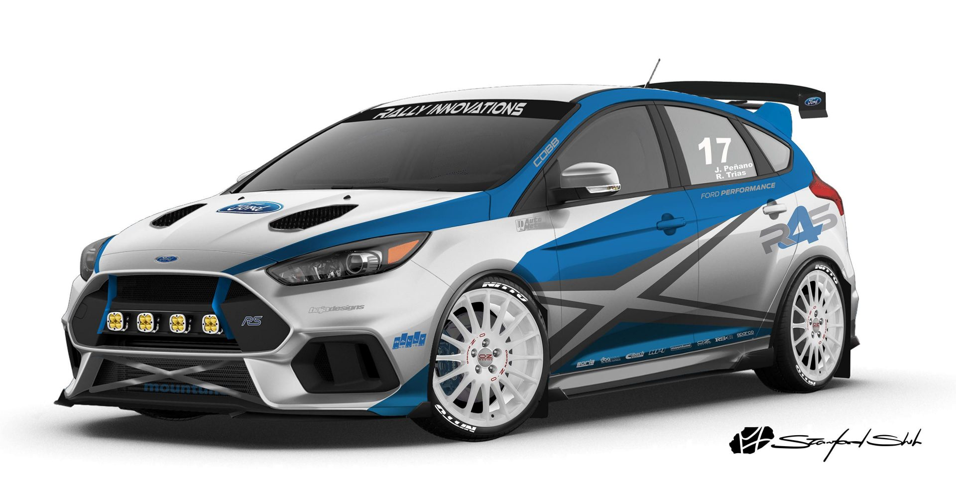 Ford shows off modded Focus hatches for SEMA