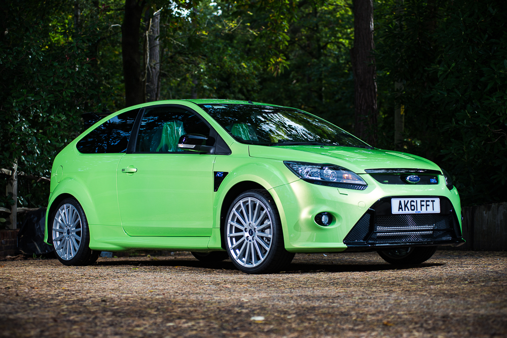 Immaculate Ford Focus RS with just 16 miles on clock set for auction