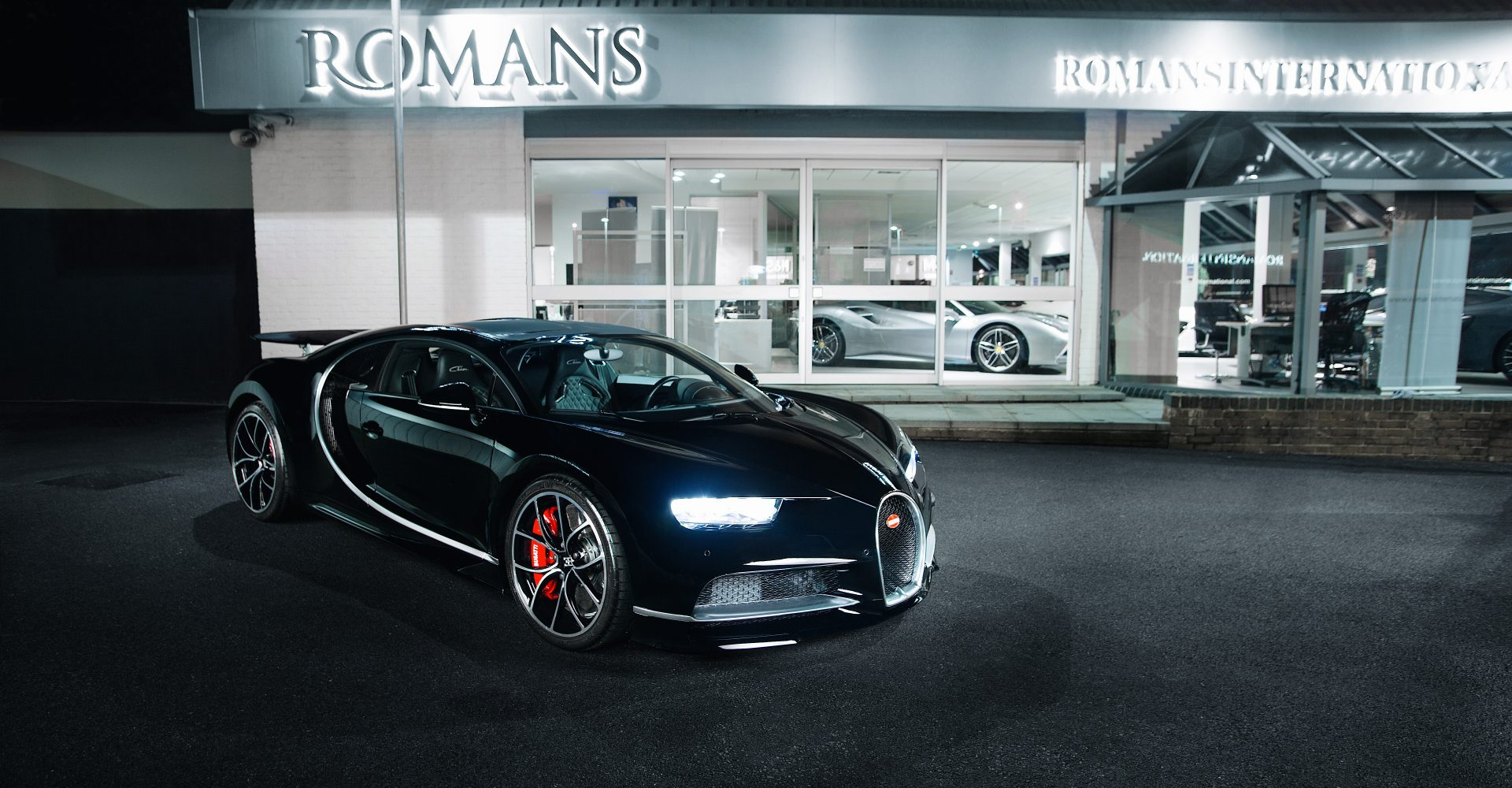 The first 'used' Bugatti Chiron in the UK is on sale — for £1.1 million more than new