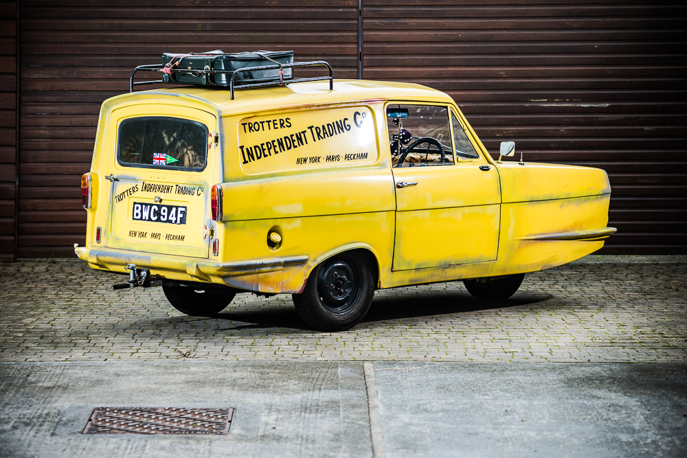 Lovely jubbly! Only Fools and Horses Reliant Regal sells for £41,625
