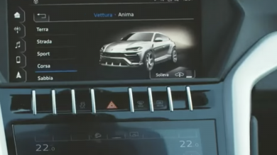 Lamborghini's Urus 'accidentally' revealed