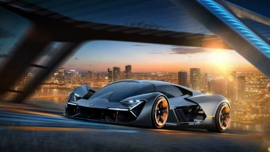 Lamborghini's latest concept is the electric hypercar of the future