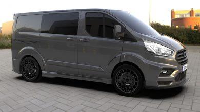 Ford unveils new MS-RT Transit Custom
